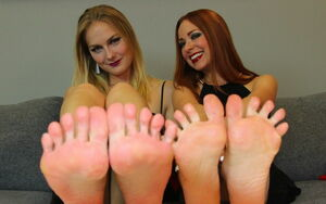 BECKY & VIKA'S Domineering JOI For The..