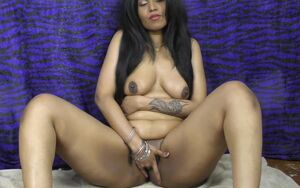 Indian chick HornyLily dancing and..