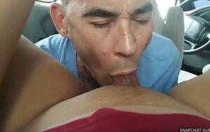 Throating my tranny gf dry