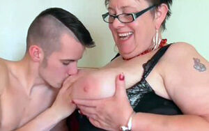 Gardener Sam Bourne bangs senior plumper