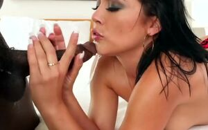 Kristina Rose blows a BBC