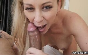 Young cougar slapping Cherie Deville..