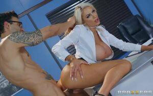 Nicolette Shea & Alex  in The Sight..