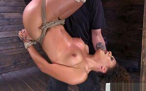 Trussed Slave Trussed And Disciplined..
