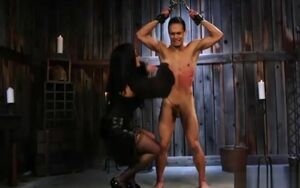 Lusty  Smacking Her Gimp Stud