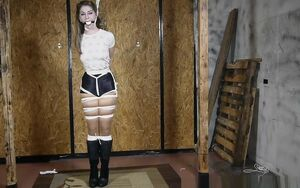 Terra Mizu - Bound and Ball-gagged - 1