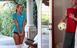 Jessie Rogers Poked by Duo After Soccer