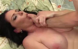Sensual angel screwed and facialized
